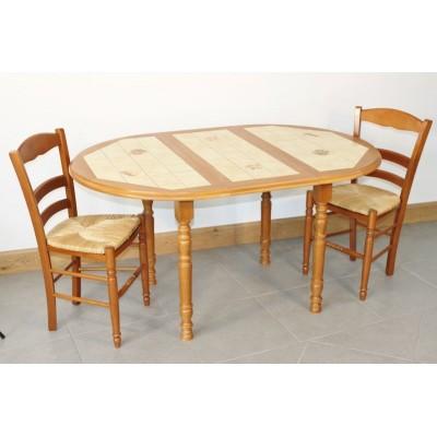 Table MAREY Diam 105  + 4 Chaises (LEGENDAIRE)