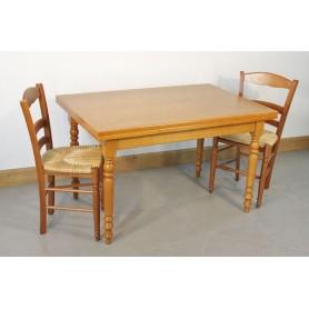 Table GURGY 120X80  + 4 Chaises (LEGENDAIRE)