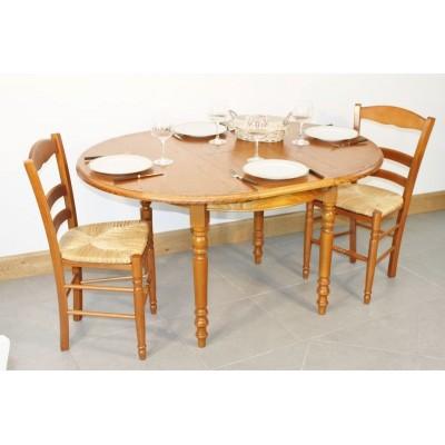 Table LUCEY Diam 105  + 4 Chaises (LEGENDAIRE)