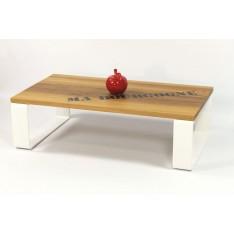 "Table Basse  ""LA MANUFACTURE"" Blanche"