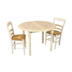 Table COURTIVRON DIAM 110