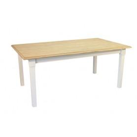 Table ROMANTIQUE 180 X 100 -Pieds carrés