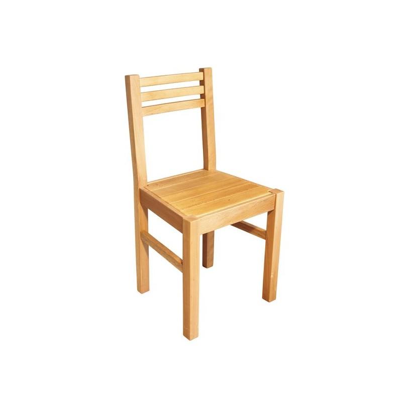 Chaise de cuisine bois moderne naturelle for Chaise capucine