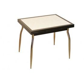 """Table AMARYLLIS NOIRE 90 X 70 """"Mosaïque"""""""
