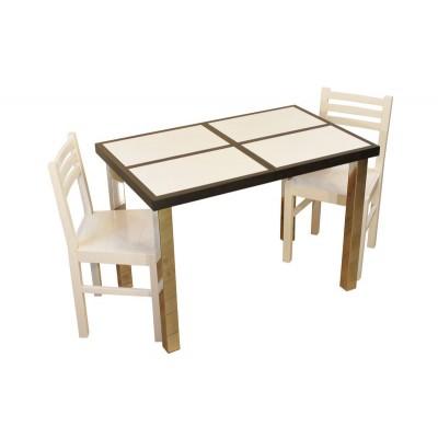 Table HIBISCUS BLANC 109.5 X 68