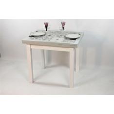 """Table PEROLINE 90 X 70 """"Carreaux ciment"""""""
