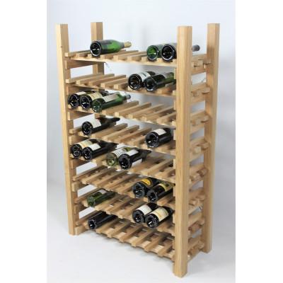"""CASIER A VIN modèle """"Dégustation"""" 64 bouteilles"""