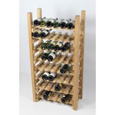"""CASIER A VIN EN CHENE MASSIF Modèle """"Dégustation""""- 48 bouteilles-"""