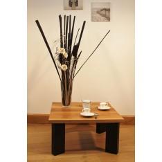 """Table Basse  """"L'URBAINE"""" Noire"""
